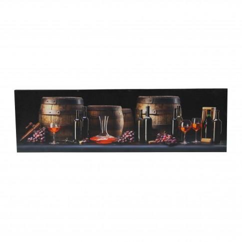 Tablou canvas TA18-PA11159, natura statica, pe panza, 30 x 100 cm