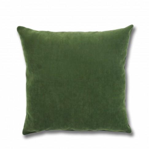 Perna decor Hazan 59, poliester + fibra poliester siliconizata, verde, 50 x 50 cm