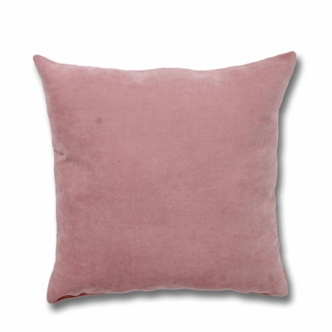 Perna decor Hazan 21, poliester + fibra poliester siliconizata, roz, 50 x 50 cm