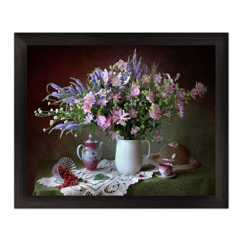 Tablou 03165, Vaza cu flori, canvas, 40 x 50 cm