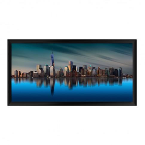 Tablou 03331, New York, canvas, inramat, 50 x 100 cm