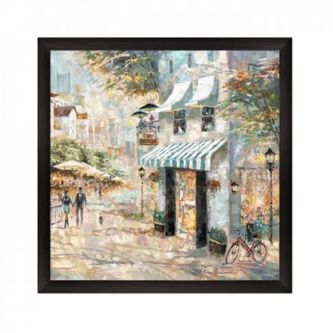 Tablou 03158, Cafena II, canvas, inramat, 60 x 60 cm