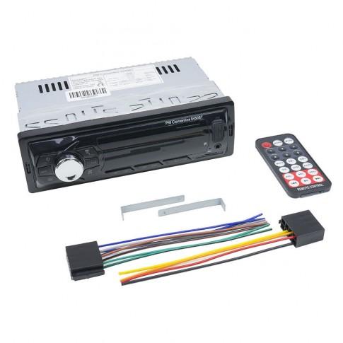 Radio MP3 player auto PNI Clementine 8450BT, 4 x 45 W, 1 DIN, Bluetooth, USB, slot micro SD, Aux in, RCA, telecomanda