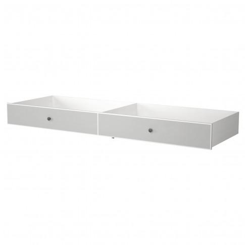 Sertar pentru pat dormitor Clemence, gri deschis, 160 x 200 cm, 1C