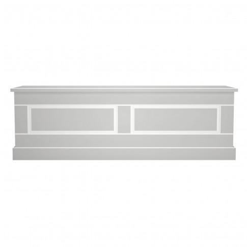 Lada pentru depozitare Clemence, gri deschis, 140 x 37 x 45 cm, 1C