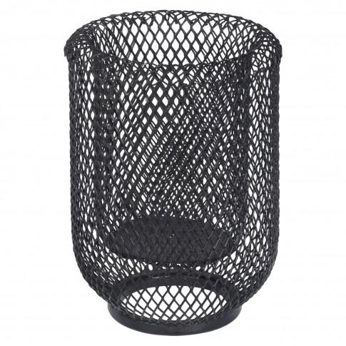 Suport lumanare, Koopman A16000080, metalic, negru, 15.5 cm