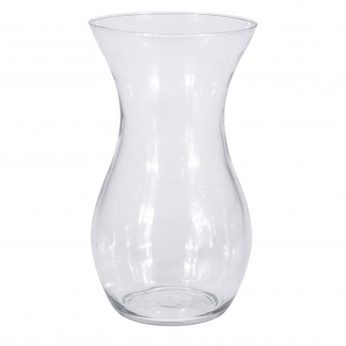 Vaza din sticla transparenta, Koopman YE4000100, H 25 cm