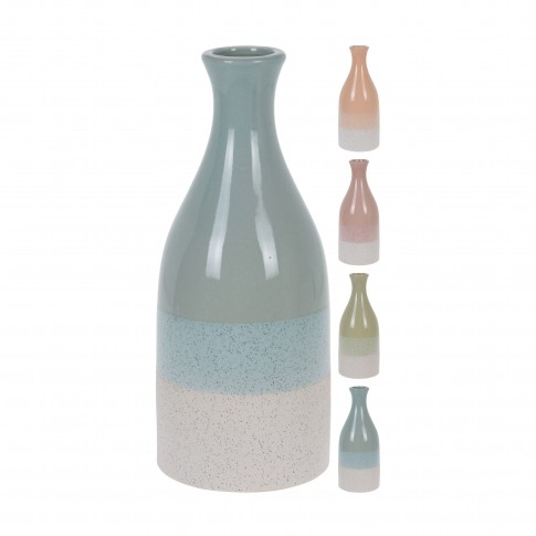Vaza decorativa, ceramica, Koopman 082000270, diverse modele, H 30 cm