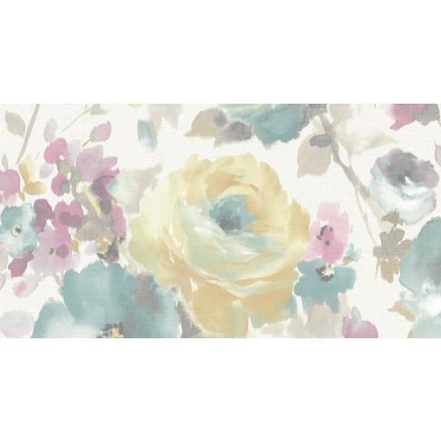 Tapet hartie, model floral, Grandeco Sarafina SN3005, 10 x 0.53 m