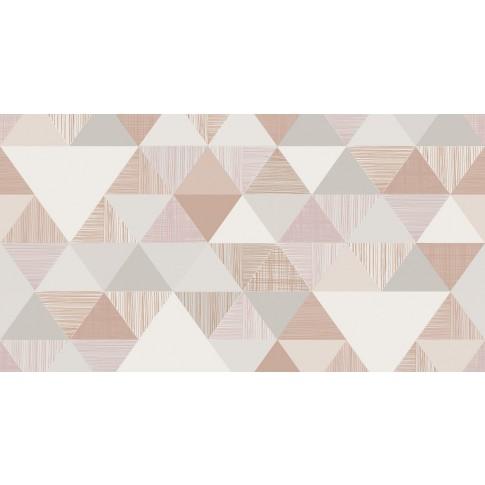 Tapet fibra textila, model geometric, Grandeco Inspiration Wall IW3002, 10 x 0.53 m