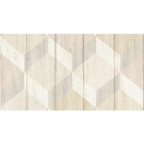 Tapet fibra textila, model geometric, Grandeco Inspiration Wall IW2001, 10 x 0.53 m