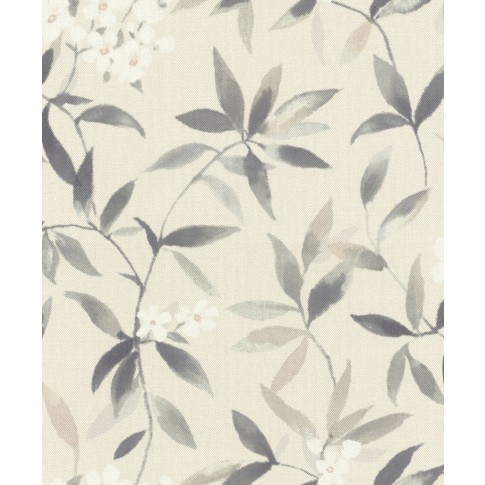 Tapet fibra textila, model floral, Rasch Poetry 424911, 10 x 0.53 m