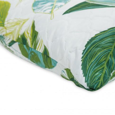 Perna pentru dormit, Minet Viseo, matlasata, cu imprimeu multicolor, 50 x 70 cm