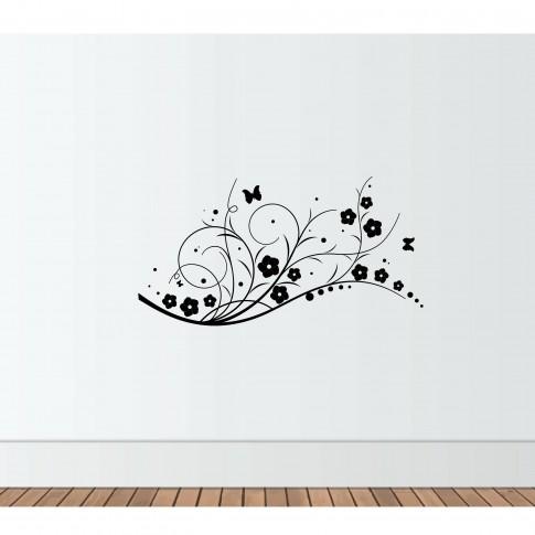 Sticker decorativ perete, living, Decorativ 1, PT3002 TR, 50 x 70 cm
