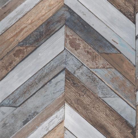 Tapet vlies, model lemn, Rasch Exposure EP3402, 10 x 0.53 m