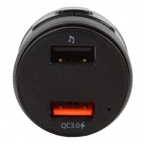 Modulator FM auto Akai FMT-C57BT, Bluetooth, USB, functie incarcator telefon, microfon incorporat, afisaj LED