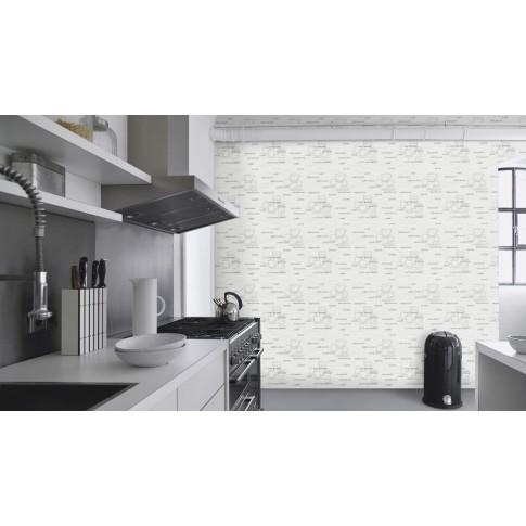 Tapet fibra textila, pentru bucatarie, Rasch 770421, 10 x 0.53 m