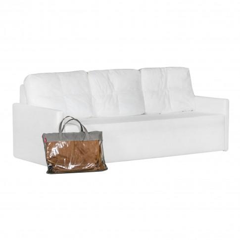 Canapea extensibila 3 locuri Lovely, fara husa, 215 x 99 x 76.5 cm, 2C