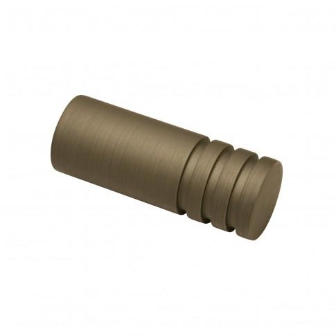 Capete galerie Kira Zylinder, metal, 19 mm, cappuccino