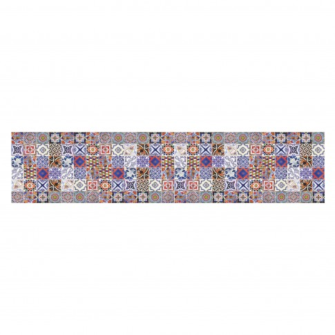 Panou decorativ bucatarie Splashback, compozit, luminescent, SPB 029, mozaic, 900 x 600 x 3 mm