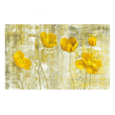 Tablou canvas TA19-AH704, compozitie cu flori, pe panza, 50 x 70 cm