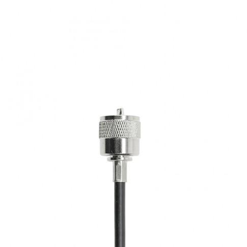 Cablu de legatura PNI R45 cu mufe PL259, lungime 45 cm, mufa din otel inoxidabil
