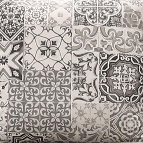 Coltar living fix pe dreapta Modena, gri, 330 x 269 x 76 cm, 6C