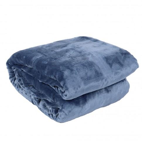 Patura pentru pat Caressa GS3625, 100 % poliester, 160 x 220 cm