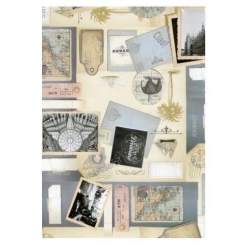 Fata de masa Gekkofix 19272, 100 % PVC, scrapbook, latime 140 cm