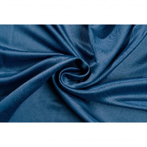 Draperie Cora, poliester, albastra, H 280 cm
