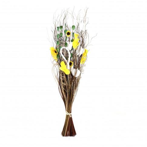 Aranjament flori uscate, 120 AR 40019, H 100 cm