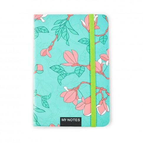 Agenda tip notes, Floral, diverse modele, 96 pagini, 9 x 14 cm