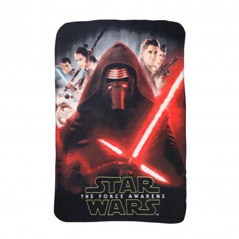Patura polar, pentru copii, Star Wars, 100 x 150 cm