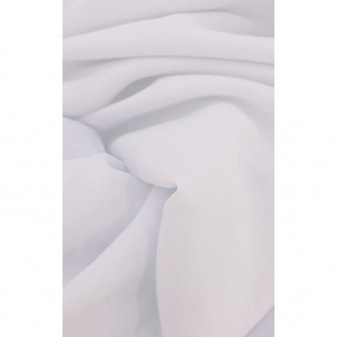 Perdea Roxy S18, poliester, alb, H 280 cm