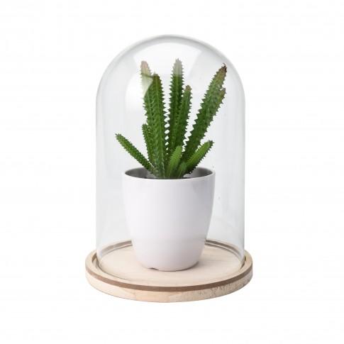 Floare artificiala, Aranjament in bol de sticla, Koopman HZ1002210, diverse modele