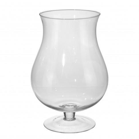Vaza decorativa, din sticla, Koopman DS2000070, H 32.5 cm