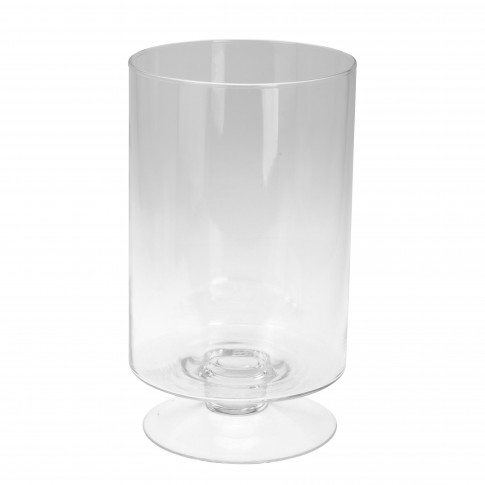 Vaza decorativa, din sticla, Koopman DS2000170, H 34 cm