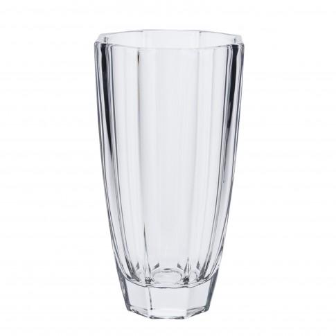 Vaza decorativa, din cristal, Koopman SR2000170, H 25 cm