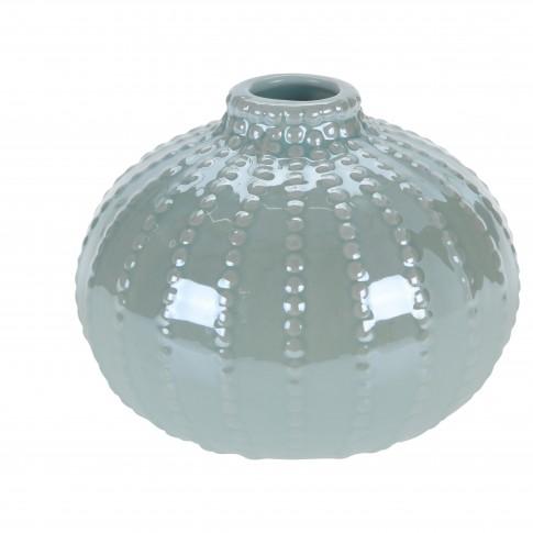 Vaza decorativa, din dolomita, Koopman 795005110, diverse culori, H 8.7 cm