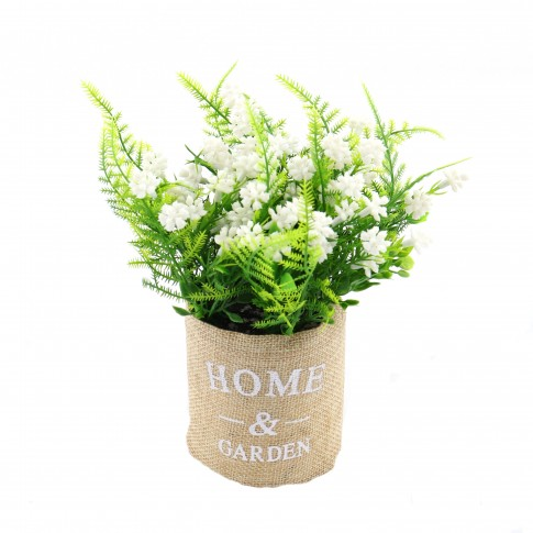 Aranjament floral G13, H 18 cm