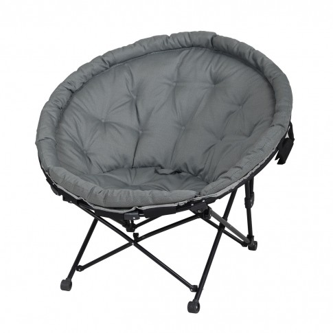Scaun camping Luna 20298L, pliant, structura metalica, 70 x 93 cm