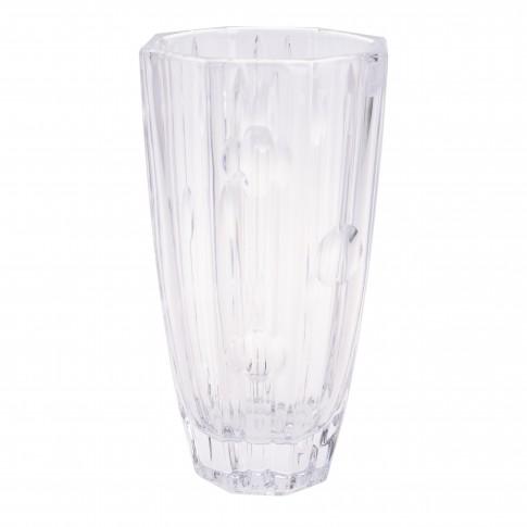 Vaza decorativa, cristal, Koopman SR2000730, H 25 cm