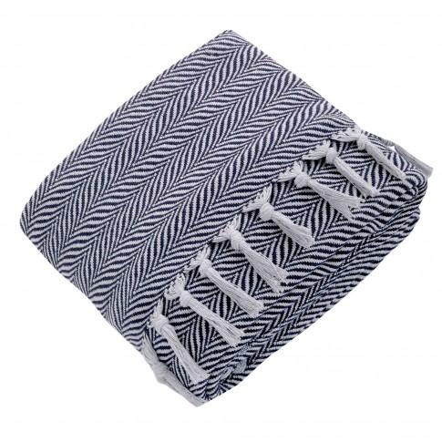 Patura pentru pat Throw, bumbac + poliester, 200 x 230 cm