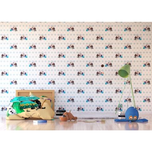 Tapet fibra textila, camera copii, AG Frozen WPD9732, 10 x 0.53 m