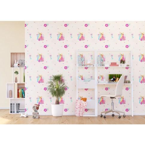 Tapet fibra textila, camera copii, AG Princess WPD9786, 10 x 0.53 m