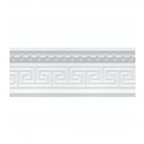 Bagheta decorativa polistiren C662 / 103, clasic, alba, 200 x 10 cm