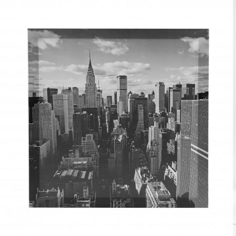 Tablou canvas TA20-A1311, peisaj urban, panza + sasiu, 40 x 40 cm