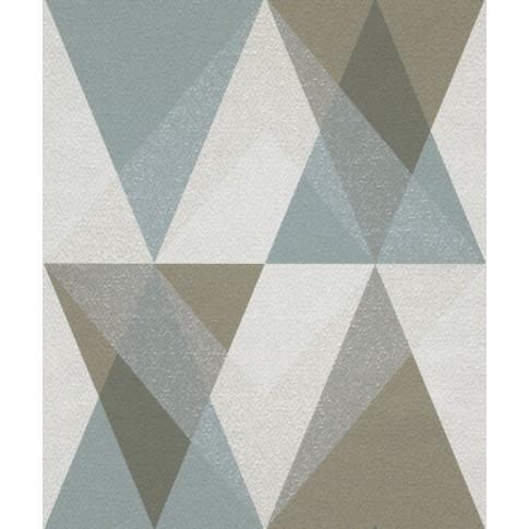 Tapet fibra textila, model geometric, Grandeco Nuances NU3102, 10 x 0.53 m