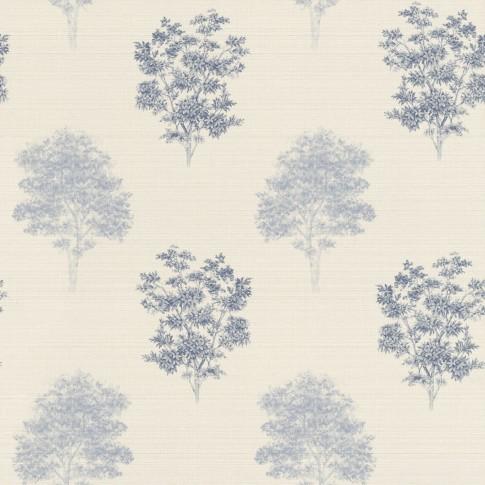 Tapet fibra textila, model arbori, Rasch Lazy Sunday 401547, 10 x 0.53 m