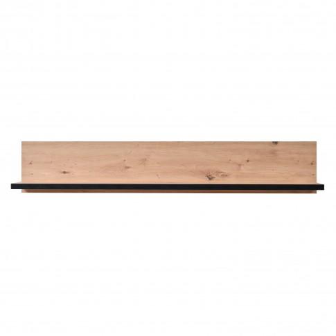 Etajera PAL, perete, Lazio ZP, stejar artisan, 137.5 x 19.5 x 24 cm, 1C